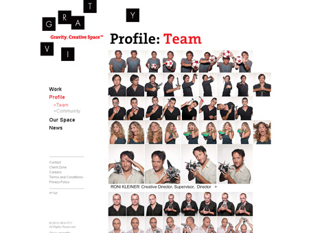 Gravity team page